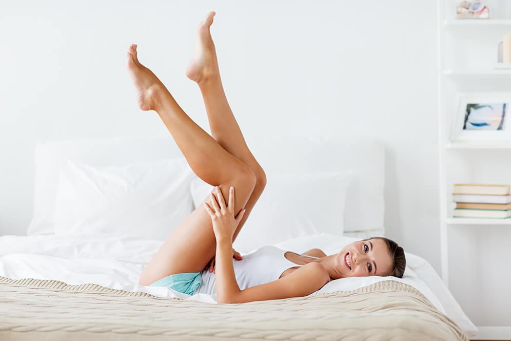 Cellulite am Unterkörper